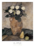 Rose Still Life Posters by Laurie Eastwood