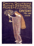 Applied Arts Exhibition, Dresden Giclee Print by Otto Gussmann