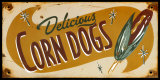 Corn Dog Posters by Matthew Labutte