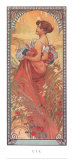 Alphonse Mucha - Ete, 1900 - Art Print