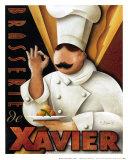 Brasserie de Xavier Prints by Michael L. Kungl