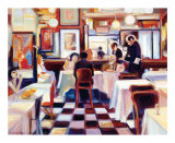 Bistro de la Nuit I Prints by Lisa Homan-Conger