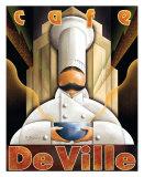Cafe DeVille Póster por Michael L. Kungl