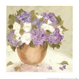 Sun Porch Hydrangeas I Prints by Patricia Roberts