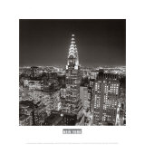 New York, New York, Chrysler Building Art by William Van Alen