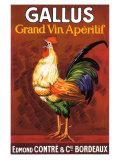 Gallus, Grand Vin Apertif Giclee Print