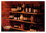 Wine Cellar Poster by Pam Ingalls