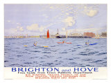 Brighton and Hove Giclee Print by Charles Pears
