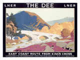 LNER, The Dee Giclee Print by Frank Newbould