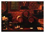 Wine Kegs Prints by Pam Ingalls