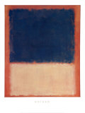 N&#176;&#160;203,1954 Posters par Mark Rothko