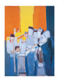Musiciens Affiches par Nicolas De Sta&#235;l