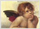 Sistine Madonna Detail 2 Art by  Raphael
