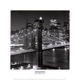 Brooklyn Bridge Poster von Henri Silberman