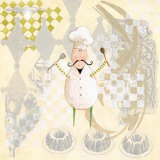 Four Star Chef II Prints by Susan Zulauf