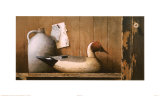 Pintail and Jug Print by Ray Hendershot