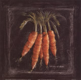 Carrots Art by Kate McRostie