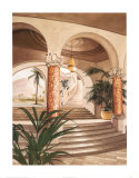 Palm Court I Prints by Roy Avis