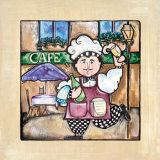 Café Prints by Linda Jacque