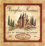 Beaujolais Nouveau, 1991 Art by Richard Henson