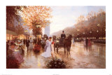 The Rendezvous Posters by Christa Kieffer