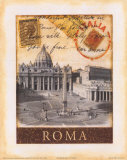 Destination Rome Poster by Tina Chaden
