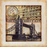 Great Britain Print by Tina Chaden