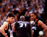 Szczerbiak/Garnett/Sprewell - '04 Group Shot ©Photofile Photo