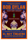 Bob Dylan - At The El Rey Poster von Dennis Loren