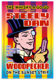 Steely Dan at the Whiskey A-Go-Go Art by Dennis Loren