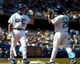 Shawn Green & Adrian Beltre ©Photofile Photo