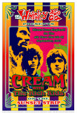 Cream at the Whiskey A-Go-Go Poster by Dennis Loren