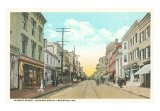 Market Street, Frederick Poster