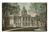 State Capitol Building, Concord, New Hampshire Art Print