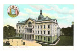 State Capitol Building, Trenton, NJ Art Print
