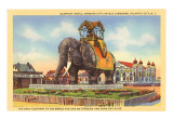 Elephant Hotel, Atlantic City, New Jersey Art Print
