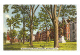 Brown University, Providence, Rhode Island, Art Print