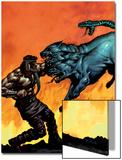 Hercules No.5 Cover: Hercules Prints by Mark Texeira