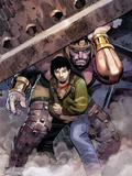 Incredible Hercules No.119 Cover: Hercules, Cho and Amadeus Plastic Sign by John Romita Jr.