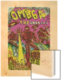 Omega: The Unknown No.7 Cover: Marvel Universe Wood Print by Farel Dalrymple