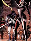 Guardians of the Galaxy No.23 Group: Martyr, Major Victory, Cosmo, Mantis and Gamora Autocollant par Wes Craig