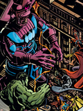Powerless No.1 Group: Galactus, Hulk, Silver Surfer and Thor Plastic Sign by Michael Gaydos
