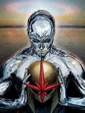 Nova No.14 Cover: Silver Surfer Posters