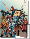 Last Hero Standing No.1 Cover: Spider-Man Posters by Scott Hanna