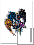 The Official Handbook Of The Marvel Universe Teams 2005 Group: Black Fox Print by John Byrne