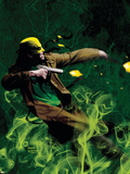 The Immortal Iron Fist: Orson Randall And The Green Mist Of Death No.1 Cover: Iron Fist Wall Decal by Kaare Andrews