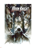 Moon Knight No.28 Cover: Moon Knight Plastic Sign