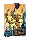 Annihilators No.3: Rocket Raccoon and Groot Wall Decal by Timothy Green II