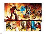 The Order No.1 Group: Anthem, Heavy, Calamity, Pierce, Avona, Maul, Corona and Infernal Man Wall Decal by Barry Kitson