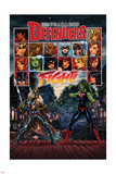 Fearless Defenders 5 Cover: Valkyrie, She-Hulk Wall Decal by Mark Brooks